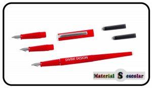 juego plumas caligrafia divine design