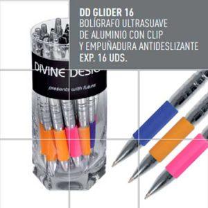 Bolígrafo ltrasuave de aluminio Divine Design