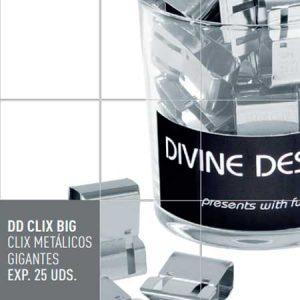 Clix metálicos gigantes DD CLIX BIG