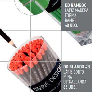 Lápices DD BAMBOO y DD BLANDO 4B