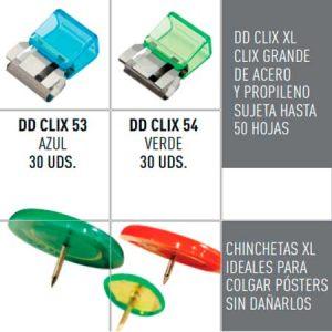 DD CLIX XL Y CHINCHETAS XL