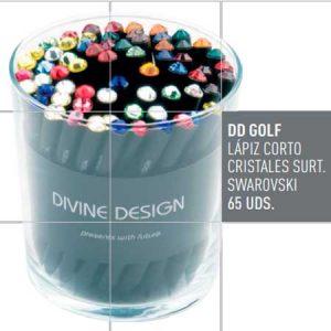 Lapices cortos Divine Design con un diseño exclusivo más pequeño. Lápiz corto DD GOLF