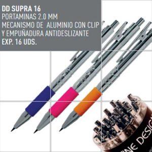 Material Escolar Portaminas mecanismo de aluminio Divine Design